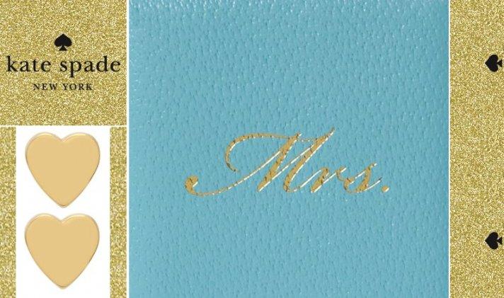 Kate Spade Gifts For Brides Bridesmaids