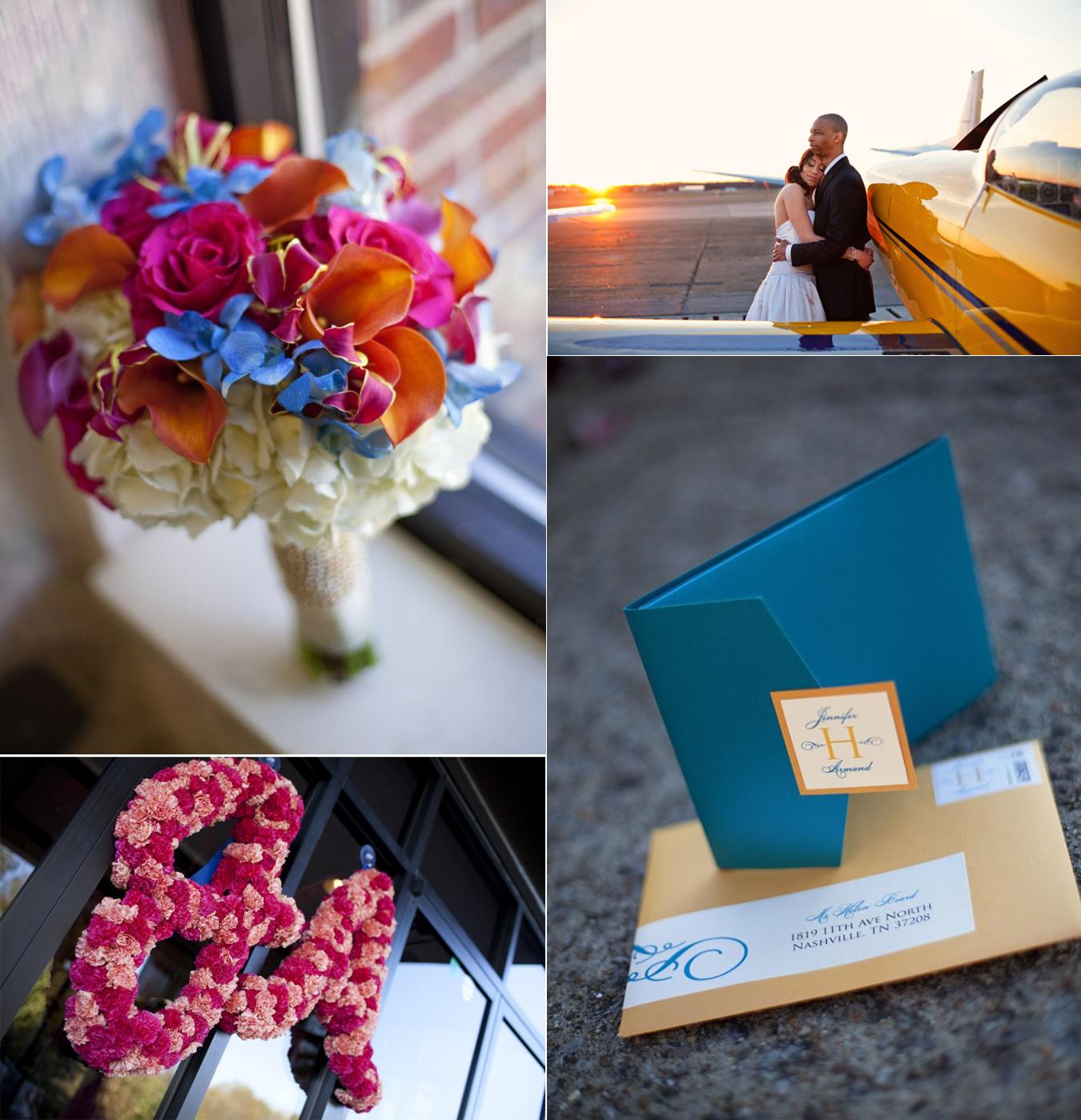 Blue Wedding Bouquets - Wedding Planning - Zimbio