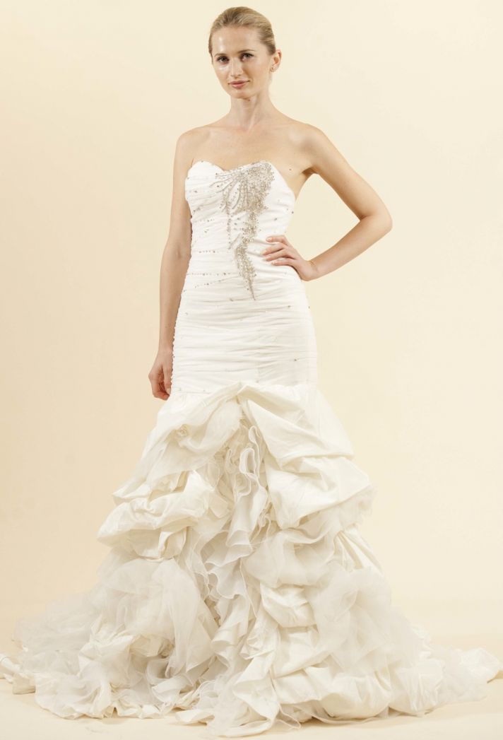 maria karan wedding dress 2012 beaded bridal gown