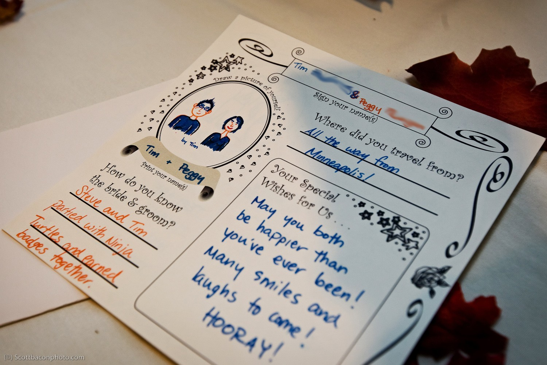 wedding guest book ideas creative reception
