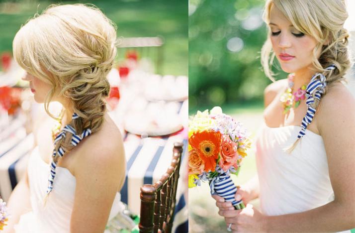 Wedding Hairstyles with Side Braid