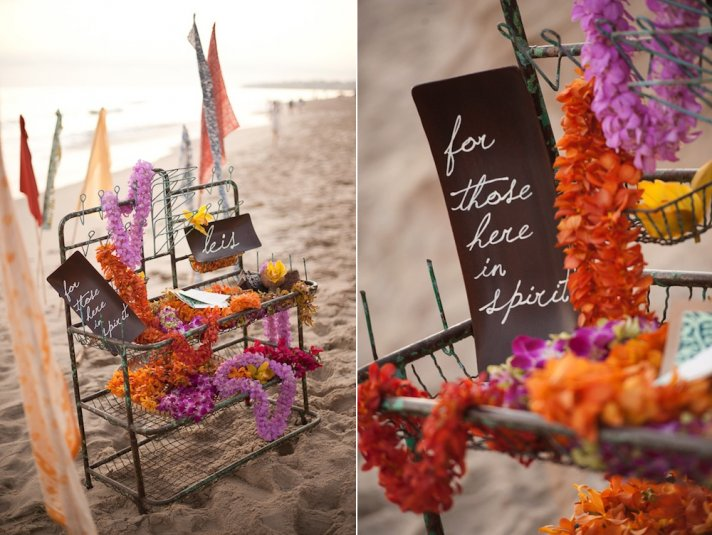 wedding ceremony reception ideas honoring the deceased