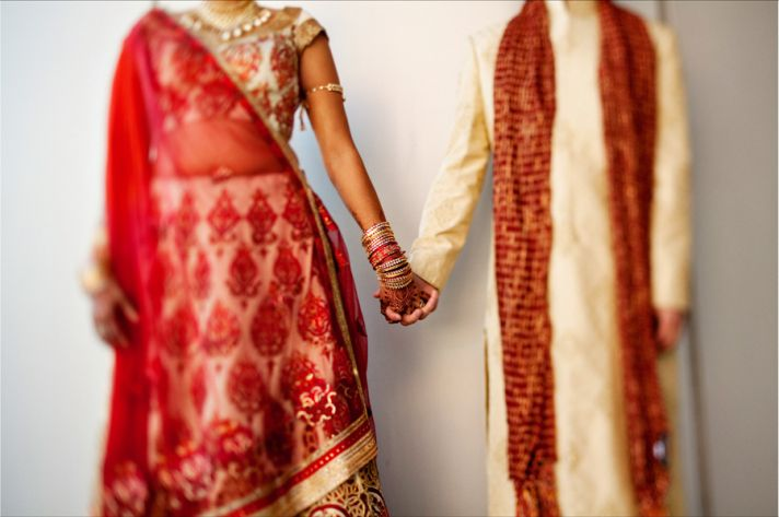 multi cultural weddings indian bride bridal bangles jewelry
