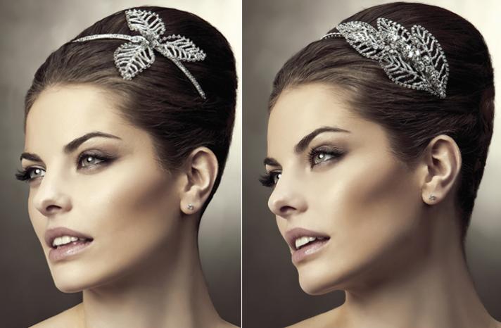 2012 casamento cabelo acessórios de noiva penteados projeto da folha de Pronovias