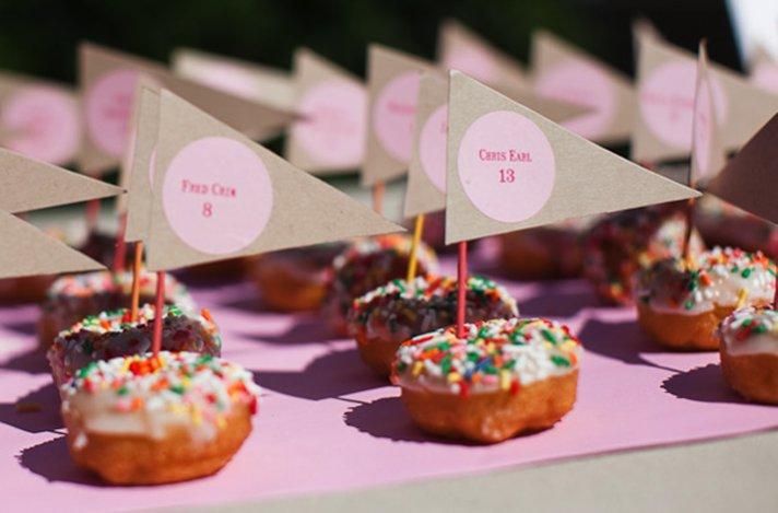 creative wedding reception ideas escort cards 2