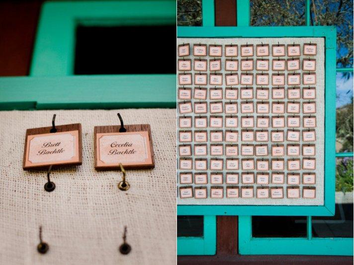 wedding reception escort cards creative ideas to display outdoors