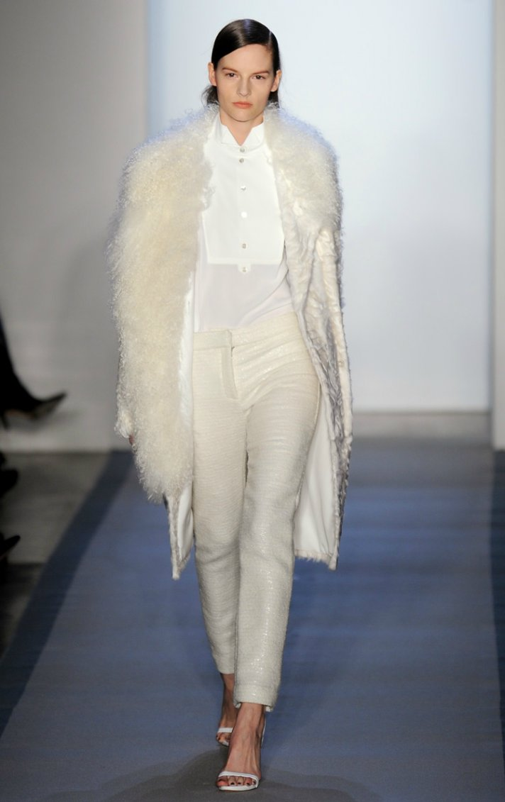 peter som wedding dress inspiration fall 2012 RTW little white dress
