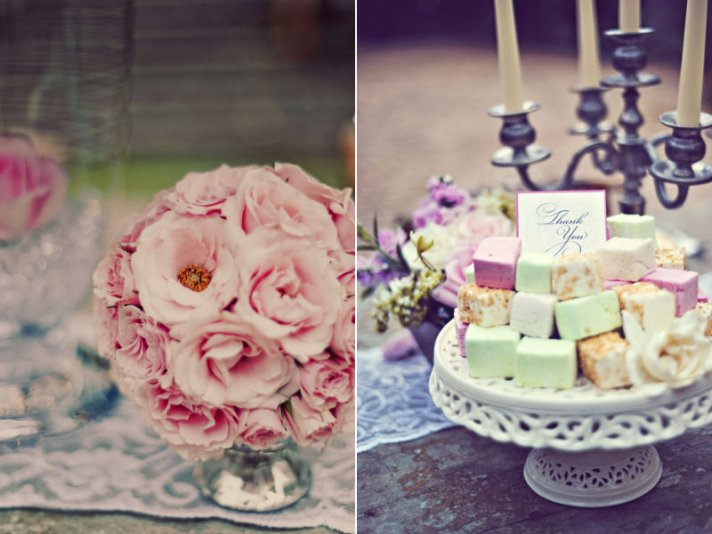 romantic wedding style wedding favors handmade soap