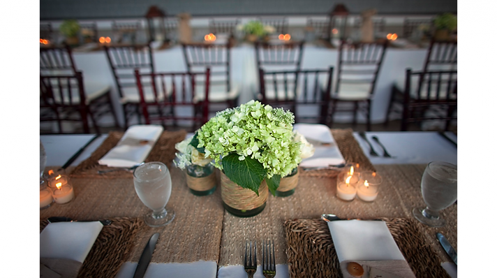 rustic chic wedding ideas burlap decor details reception tablescape