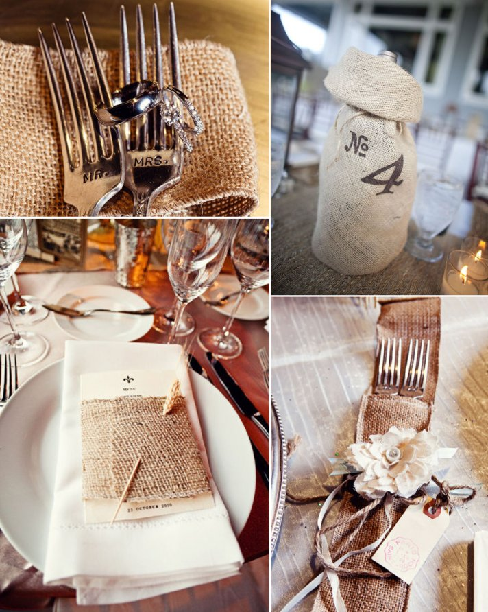 rustic wedding reception details tablescape