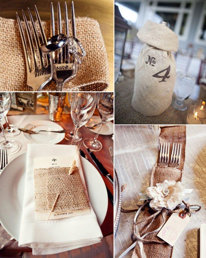 rustic wedding reception details tablescape