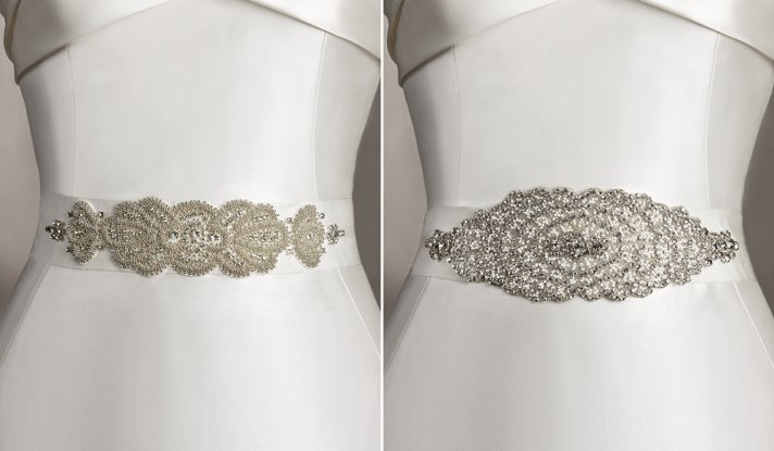 embellished bridal belts pronovias
