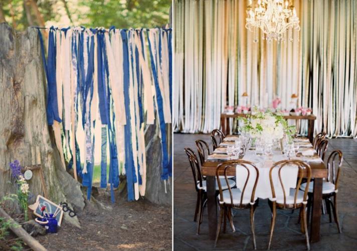 whimsical wedding reception decor photobooth backdrop reception table for