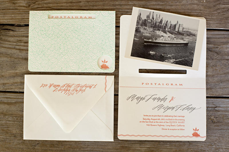 art deco wedding invitations vintage inspired wedding stationery coral aqua