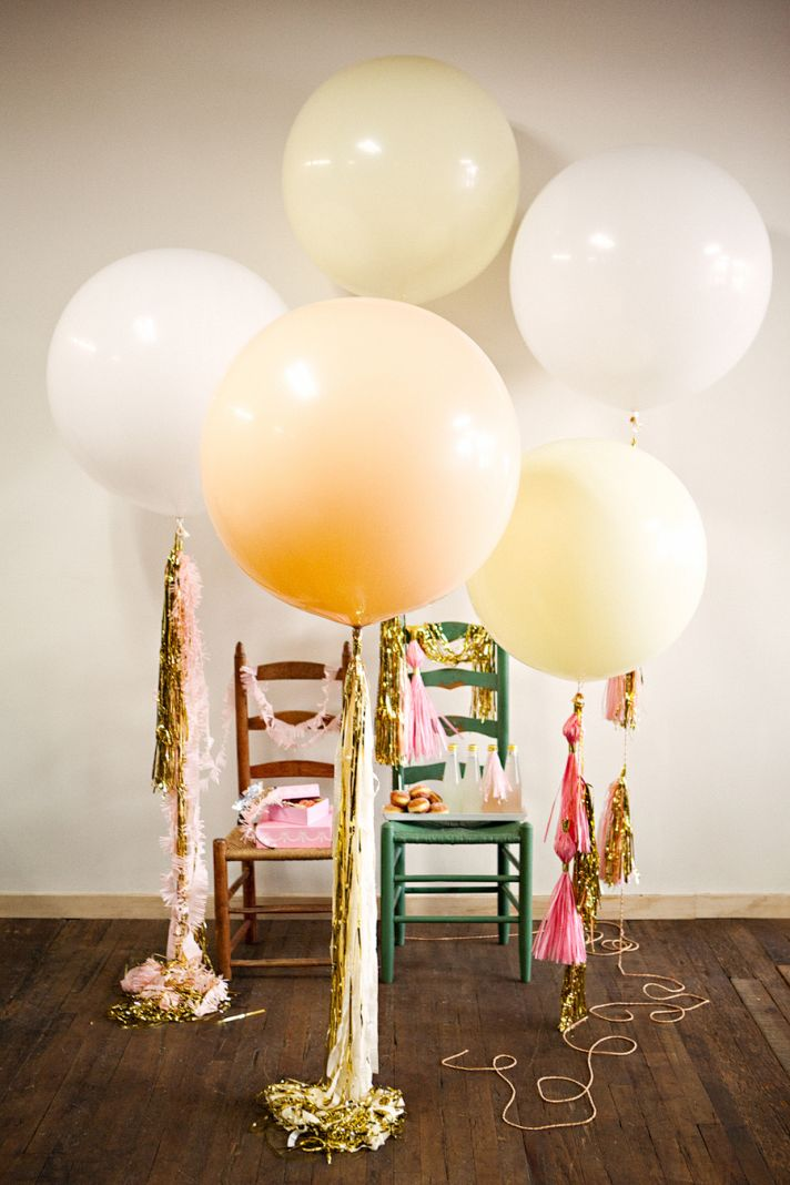 Float Away with Balloon Wedding Inspiration | OneWed