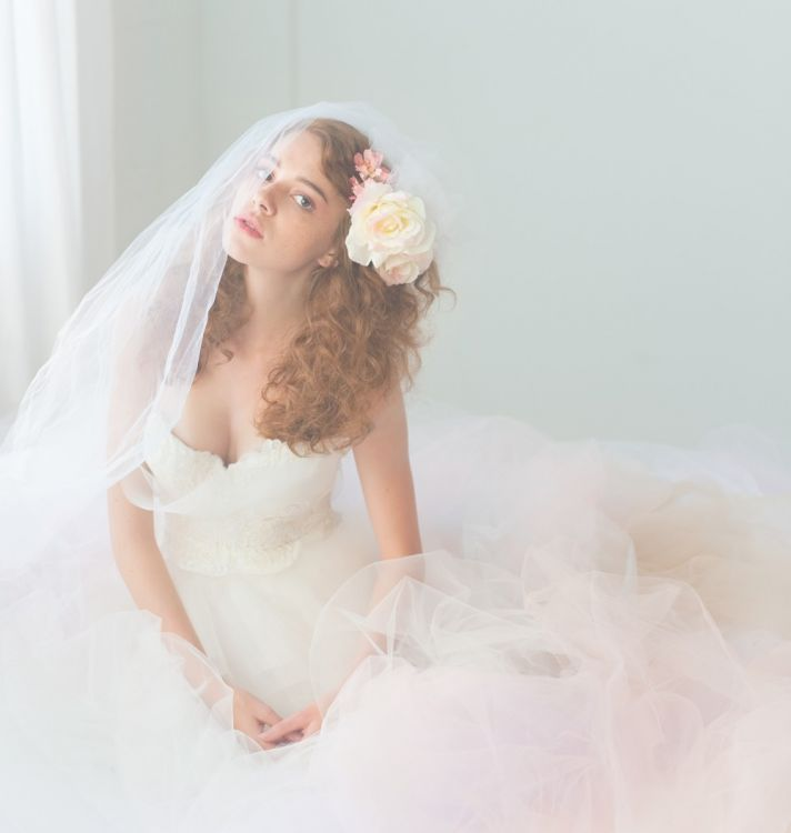 2012 bridal gown tulle wedding dress romantic