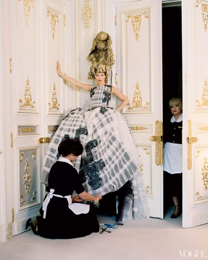 dramatic wedding inspiration kate moss elegant ballroom wedding venue black ivory wedding dress