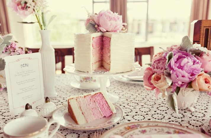 pretty romantic wedding cakes 1