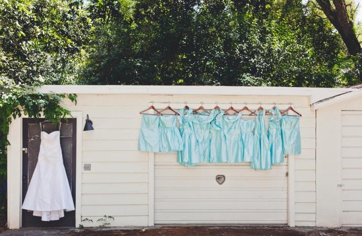 romantic winery wedding outdoor wedding venues pastel bridesmaids dresses