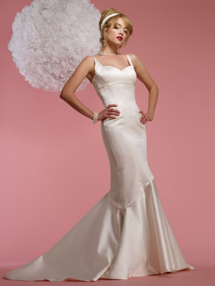 2012 wedding dress YSL inspired bridal collection Lourdes