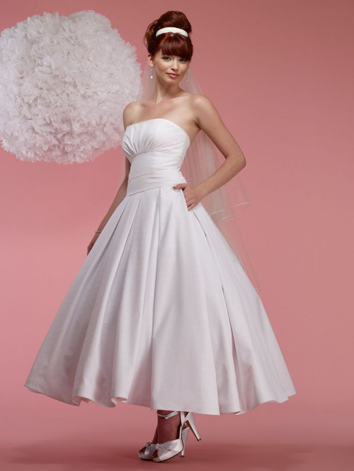 vintage inspired wedding dress 2012 bridal gowns steven birnbaum collection Eloise