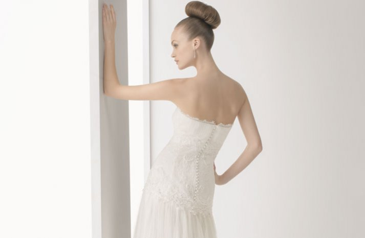 romantic lace wedding dress 2012 bridal gowns soft by rosa clara