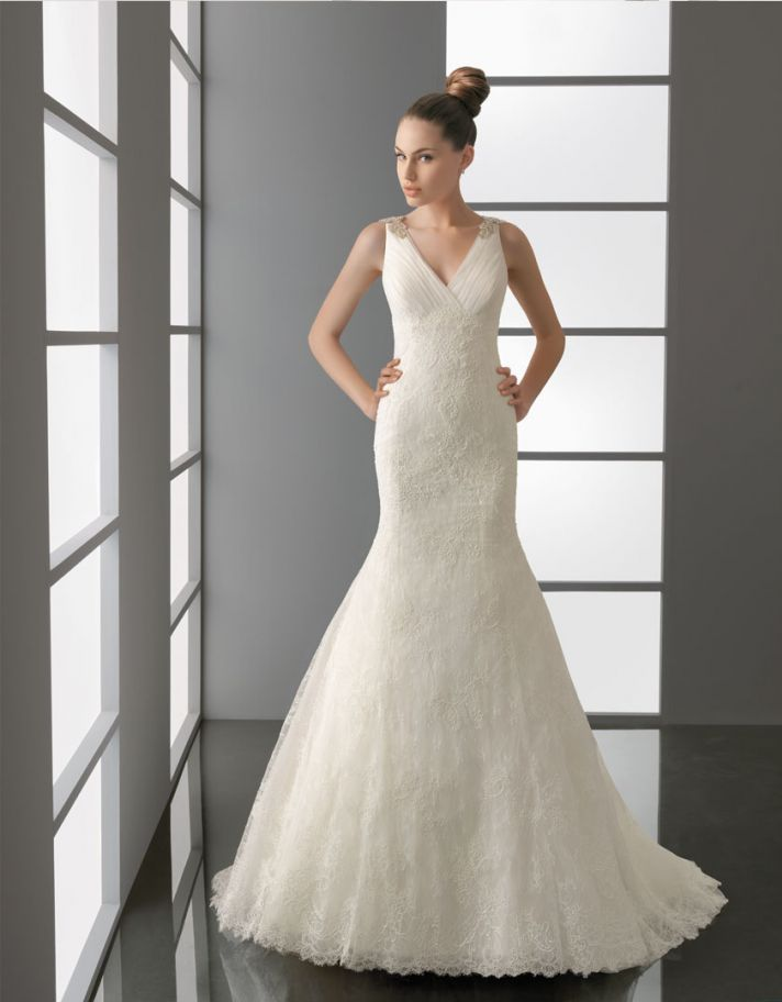 2012 wedding dress aire barcelona bridal gowns Patricia