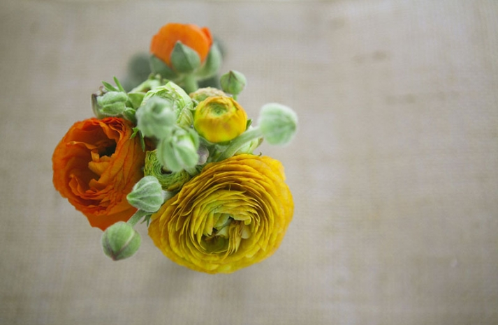 cinnamon citrus wedding flowers spring bridal bouquet