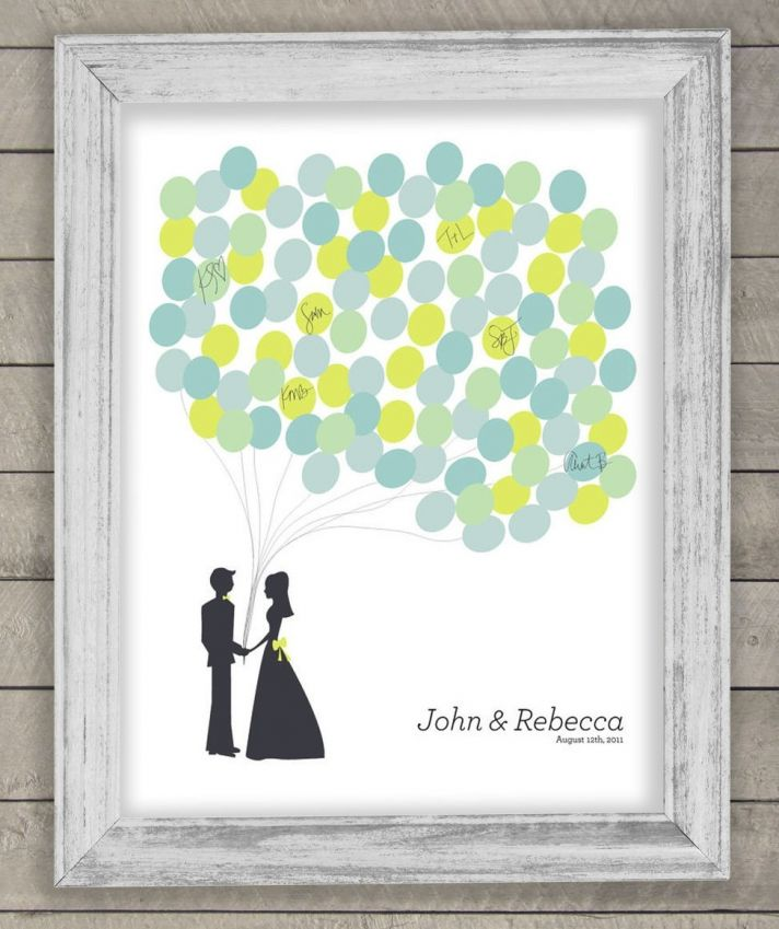 6 Creative Wedding Guest Book Alternatives