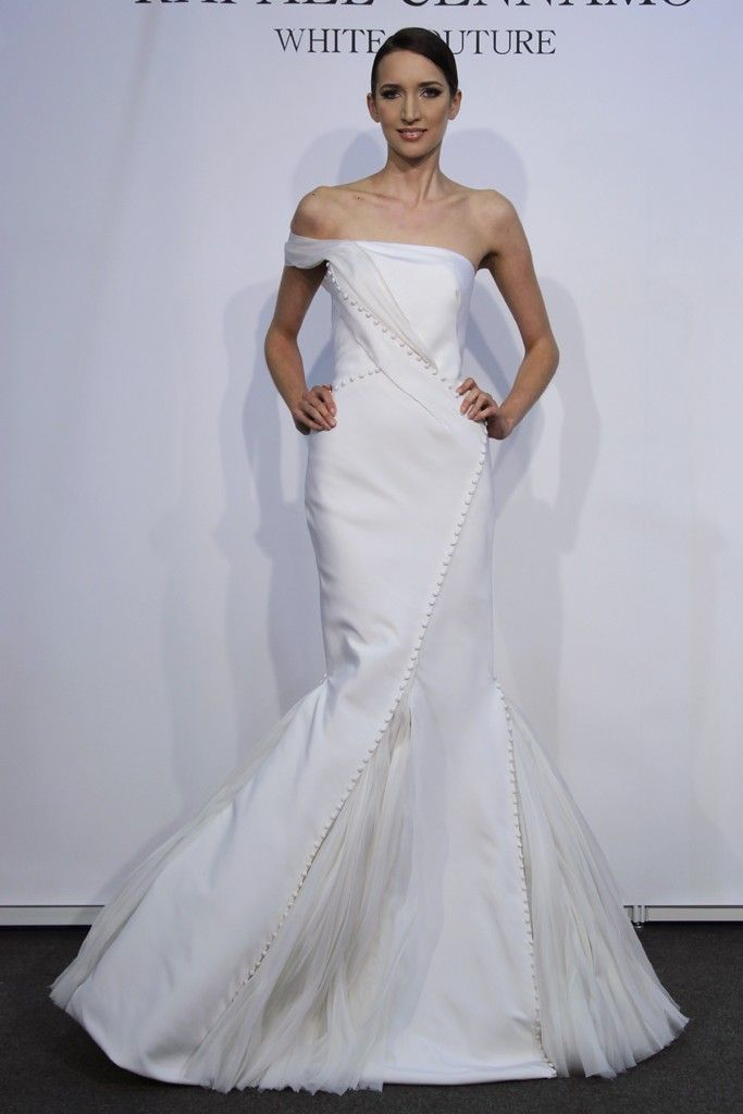 Modern Romance Wedding Dress : Bridal style spring wedding dresses rafael cennamo gown