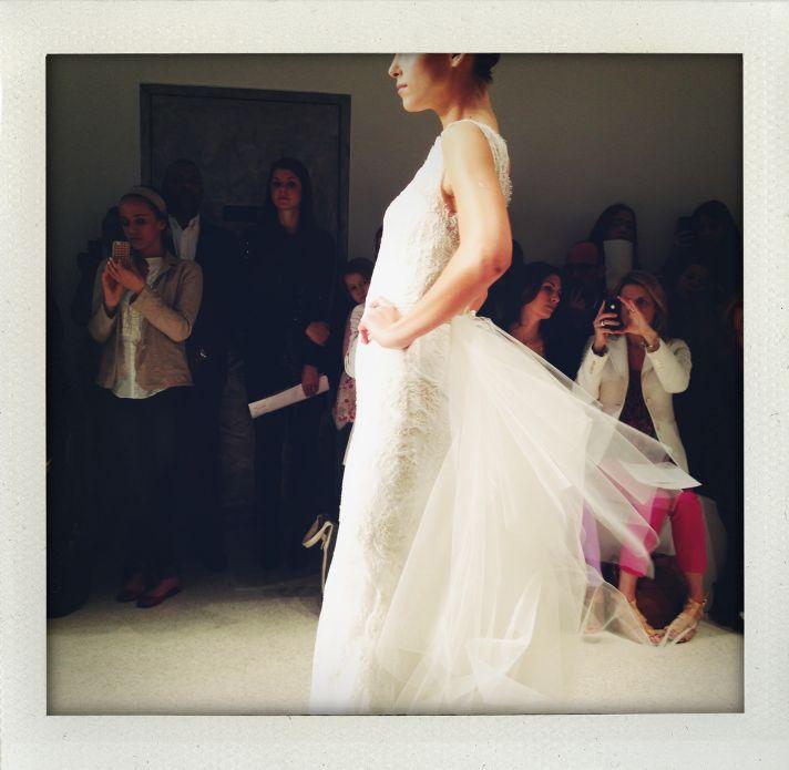 spring 2013 wedding dress bridal market runway 1