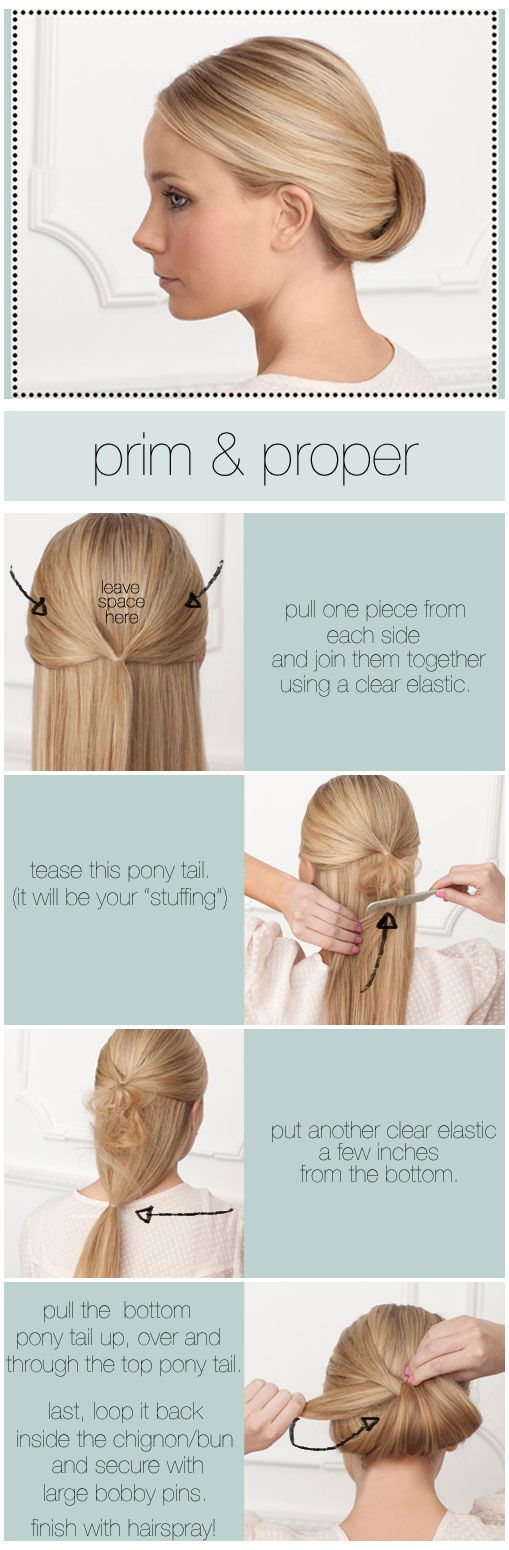 three fav pre wedding DIY bridal hairstyles how to tutorials for ...