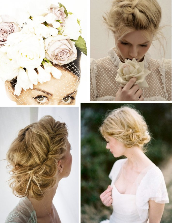DIY wedding hair tutorials bridal beauty celebrity inspired bridal ...