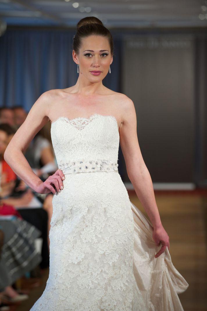 2013 wedding dress by ines di santo lace romantic