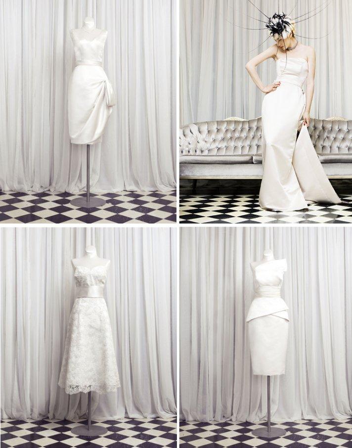 wedding dresses and LWDs for vintage inspired brides