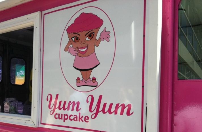 cupcake truck for wedding reception atlanta