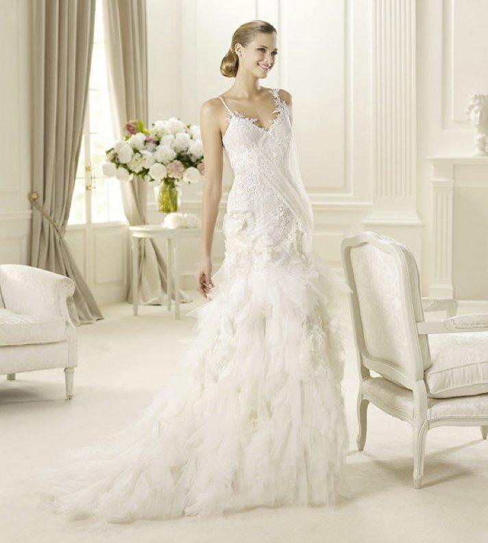 2013 wedding dress Pronovias Glamour collection bridal gowns Guinda