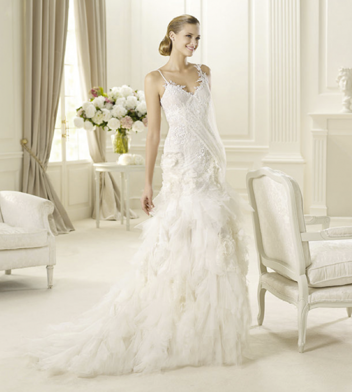 2013 wedding dress Pronovias Glamour collection bridal gowns Guinda