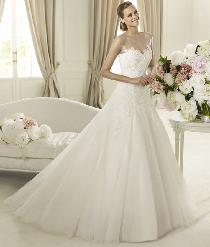2013 wedding dress Pronovias Glamour collection bridal gowns Divina