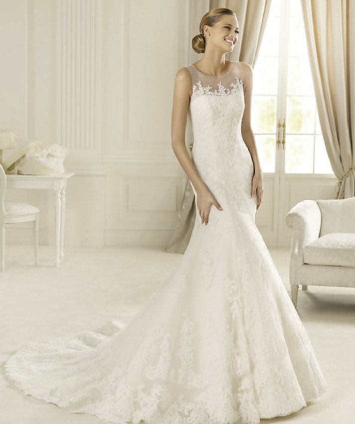 2013 wedding dress Pronovias Costura collection bridal gowns Danubio