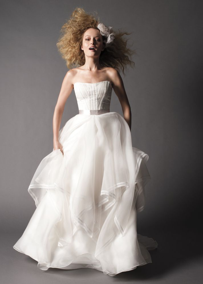 fall 2012 wedding dress Watters bridal gowns