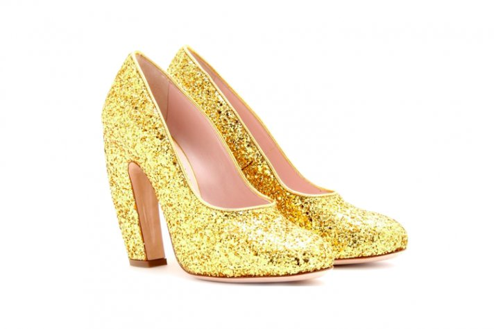gold sparkly wedding shoes mary janes
