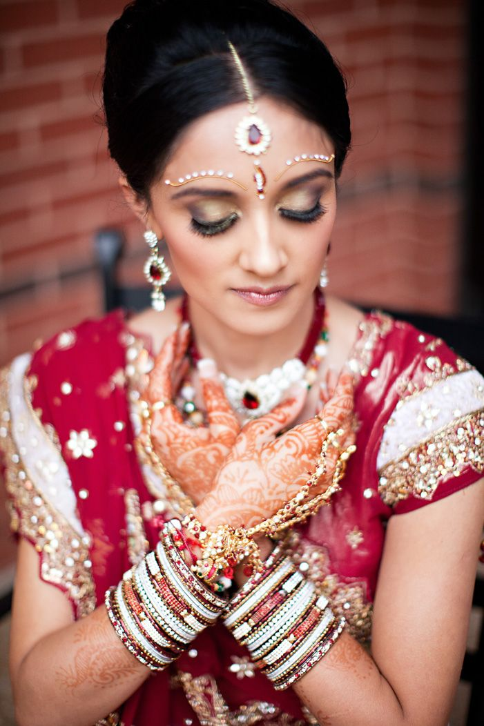 cultural real wedding Indian weddings Chicago IL gold red mahogony 2