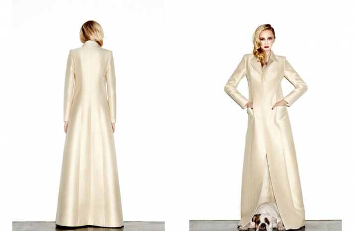 daring new wedding dress designer Houghton NYC bridal gowns 14