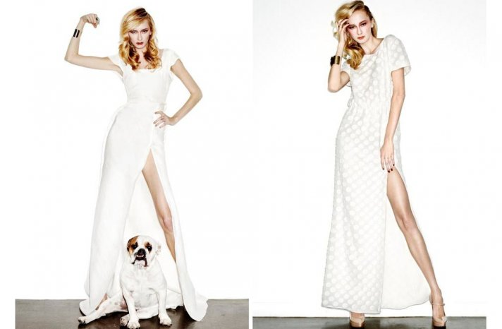 new bridal designer edgy wedding dresses by HOUGHTON 2