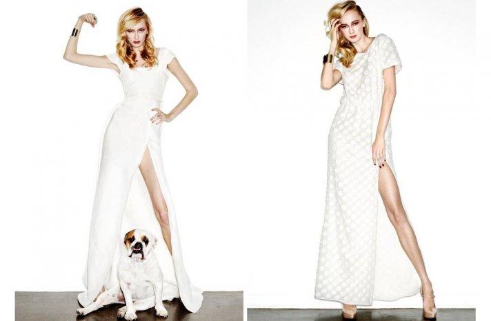 new bridal designer edgy wedding dresses by HOUGHTON 2