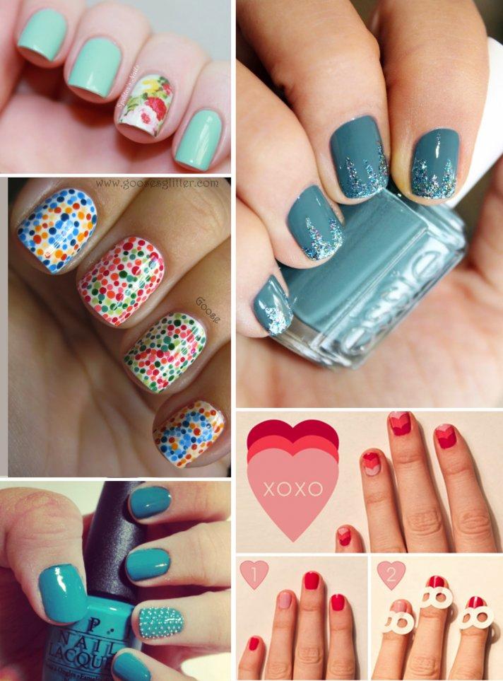 wedding beauty ideas unique bridal nail styles 4