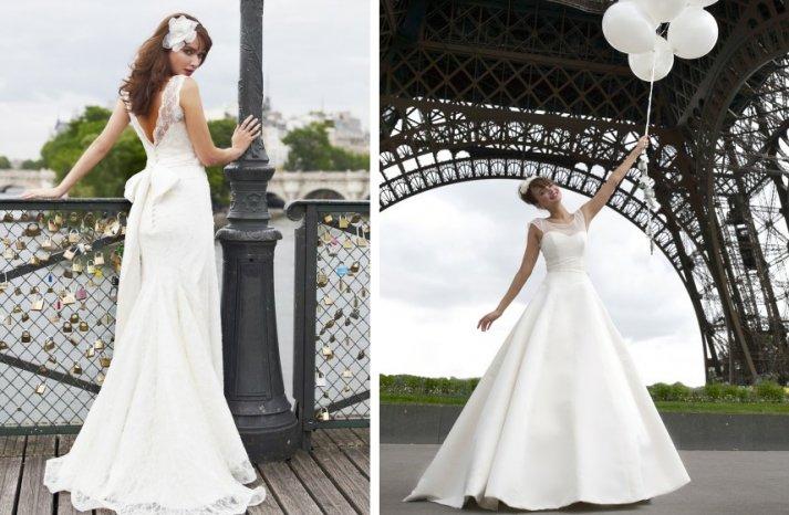 vintage inspired wedding dress stephanie allin lace illusion necklines