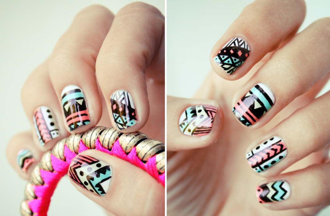 Pastel Nail Art Ideas
