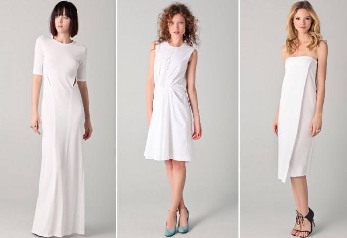 discount designer wedding dresses LWDs shopbop 2